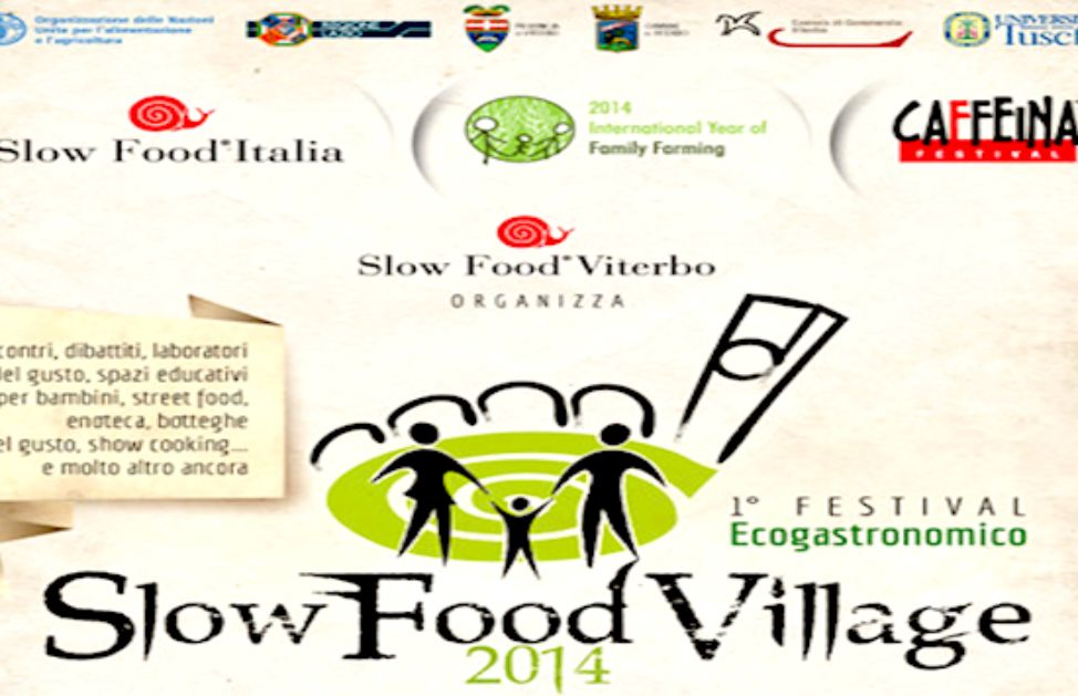 A Viterbo Caffeina e Slow Food Village