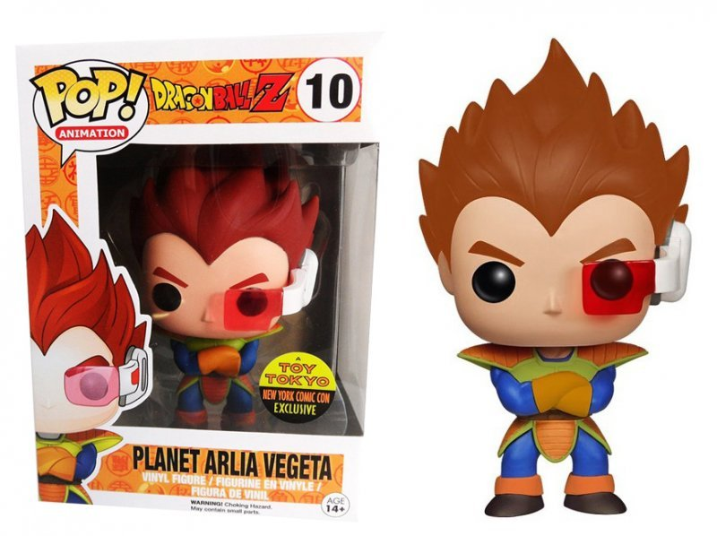 Funko Pop più costosi: vegeta planet arlia