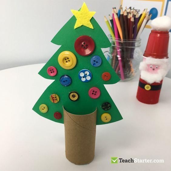Lavoretti Di Natale Per Bambini Con Cartoncino.6 Lavoretti Di Natale Per Bambini Dell Asilo Deabyday